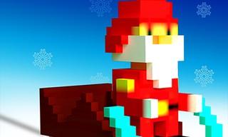 Super Sliding Santa
