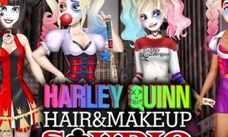 Harley Quinn Hair and Makeup Studio