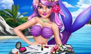 Princess Mermaid Makeup Style