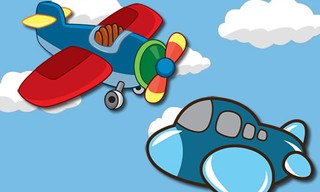 Airplanes Coloring Pages