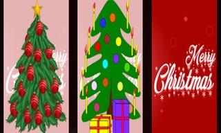 Christmas Tree Memory Game
