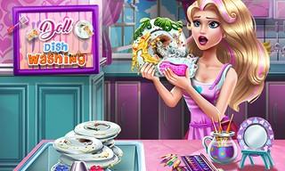 Doll Dish Washing