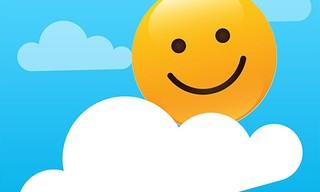 Emoji Sliding Down