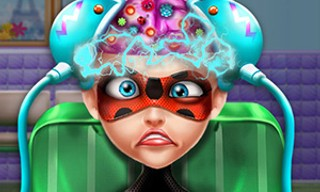 Dotted Girl Brain Doctor