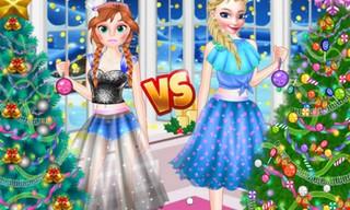 Ellie VS Annie Christman Tree!