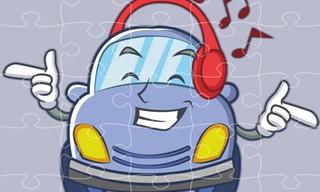 Smiling Cars Jigsaw