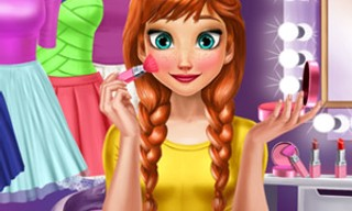 Ice Princess Makeup Time