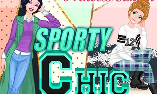 Princess Style Guide: Sporty Chic