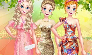 Princess Spring Model Challenge