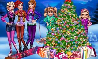 Princess Christmas Night