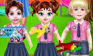 Baby Taylor Daily Life In Kindergarten