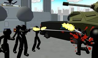 Stickman City Shooting 3D