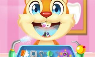 Crazy animals dentist