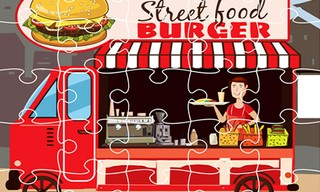 Burger Trucks Jigsaw