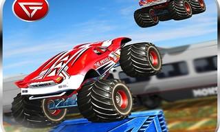 Monster Truck Impossible Track : Monster Truck Stunts