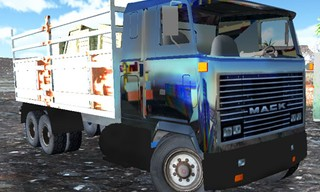 OffRoad Truck In The Rain