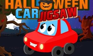 Halloween Car Jigsaw