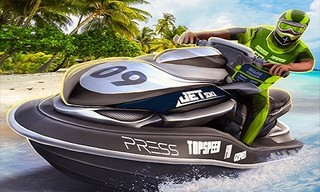 Jet Ski Racing Games: Water Boat mania