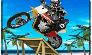 Beach Bike Stunts Game