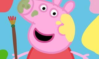 Cute Pigs Paint Box