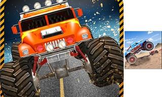 Monster truck racing Legend