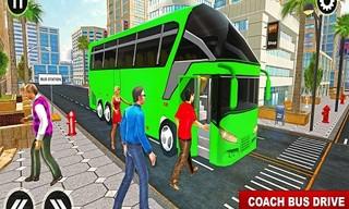 Euro Coach Bus City Extreme Driver