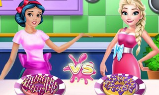 Princesses Cooking Contest