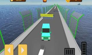 Broken Bridge Ultimate Car Racing Game 3D