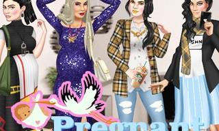 Pregnant Kardashians