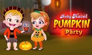Baby Hazel Pumpkin Party
