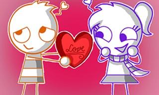 Valentines Hidden Stars