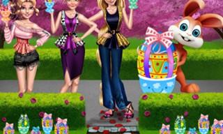 Girls Easter Chocolate Eggs