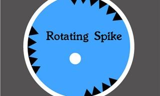Rotating Spike