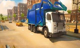 Road Garbage Dump Truck Driver