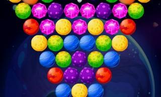 Bubble Shooter Planets