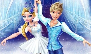 Elsa and Jack Ice Ballet