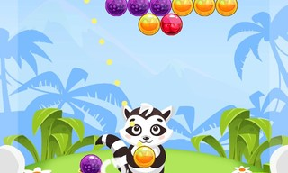 Bubble Shooter Raccoon
