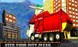 Road Garbage Dump Truck Cleaner