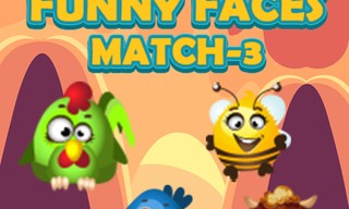 Funny Faces Match3