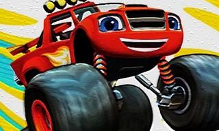 Monster Trucks Hidden Wheels