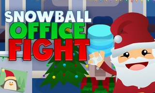 Snowball Office Fight