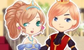 Romantic Royal Couple