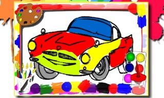 Racing Cars Coloring Book