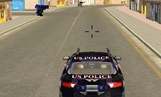 War Robot Car Speed Fire