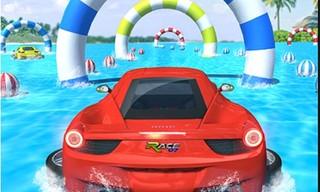 Water Car Stunt Racing