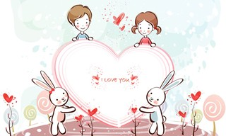 Valentine Young Love Puzzle