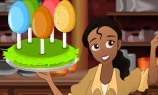 Princess Easter Egg Decoration