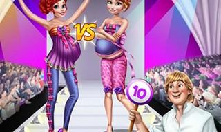 Pregnant Princesses Catwalk Show