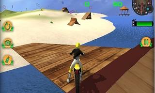 Moto Beach Jumping Simulator Game