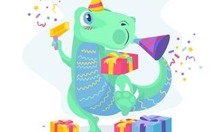 Dino Party Jigsaw